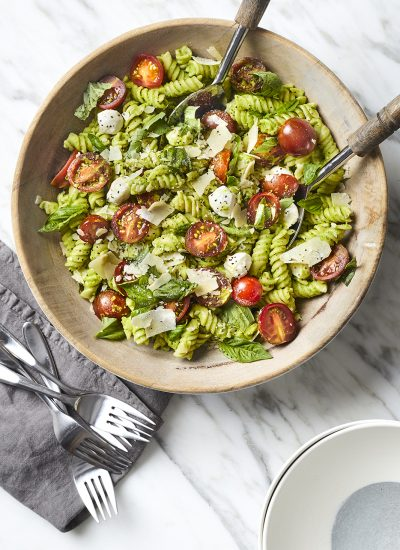 Green Pea Pesto Pasta Salad - Freaking Delish