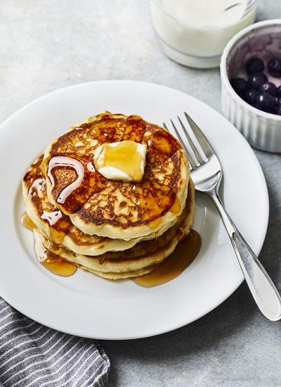 Easy No Egg Pancake Recipe (AKA Coronavirus Pantry Pancakes)
