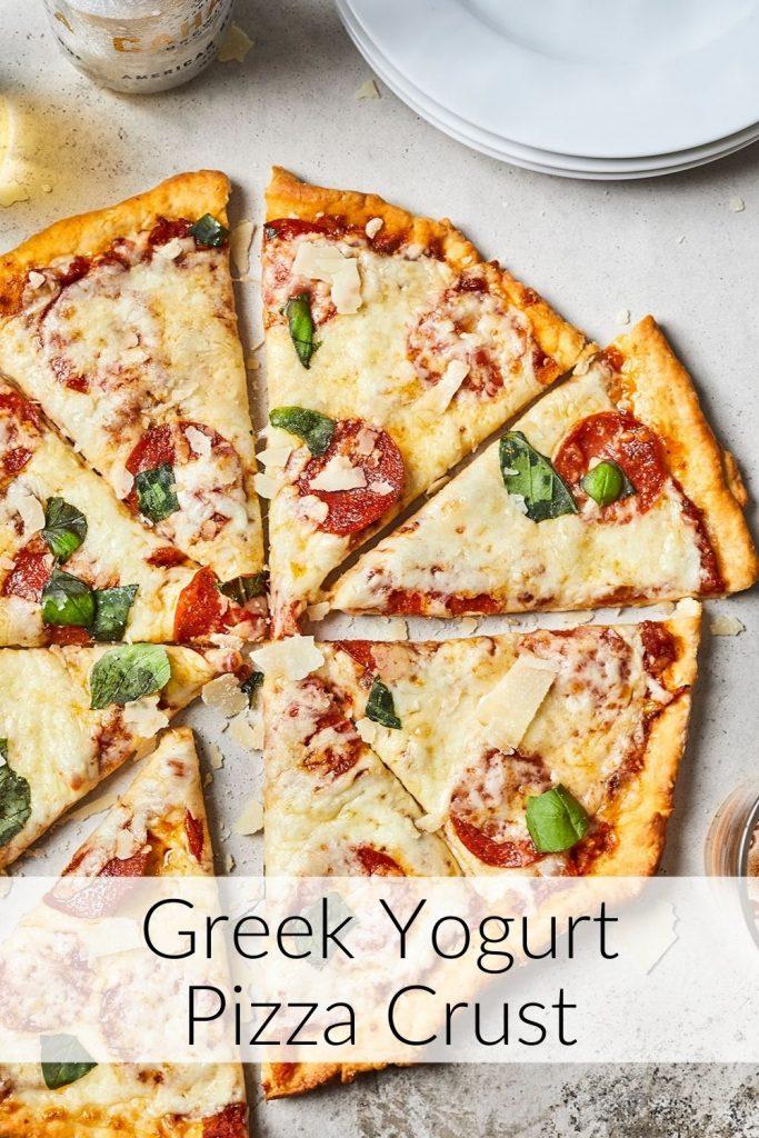 No Yeast Greek Yogurt Pizza Dough - Best Think Crust Pizza