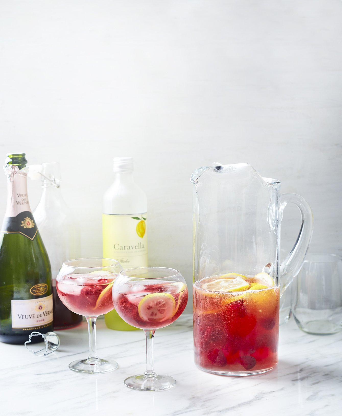Raspberry Lemonade Rose Prosecco