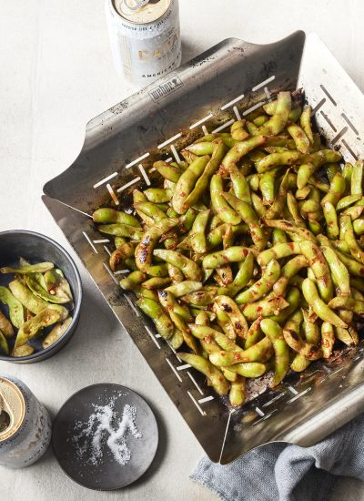 Grilled Spicy Garlic Edamame – Spice Up Your Veggie Routine