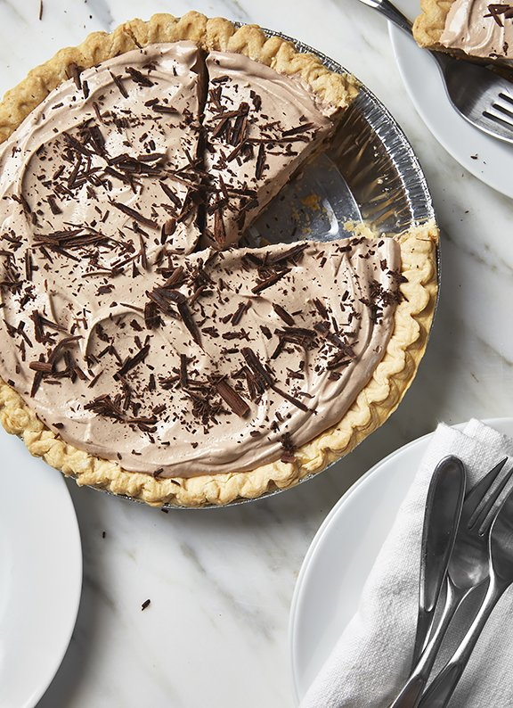 Slice of Pie - Ultimate Nutella Banana Pie is perfect for celebrations