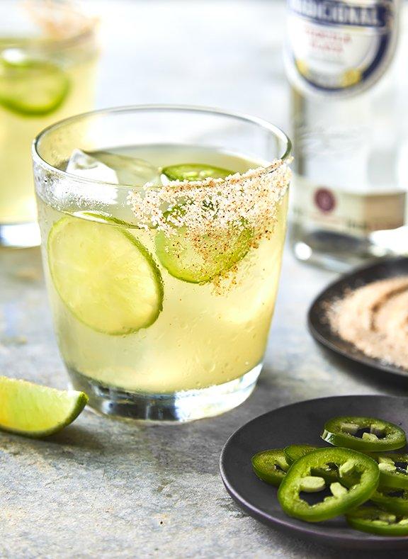Spicy Easy Margarita - Jalapeno Limeade Margarita Recipe