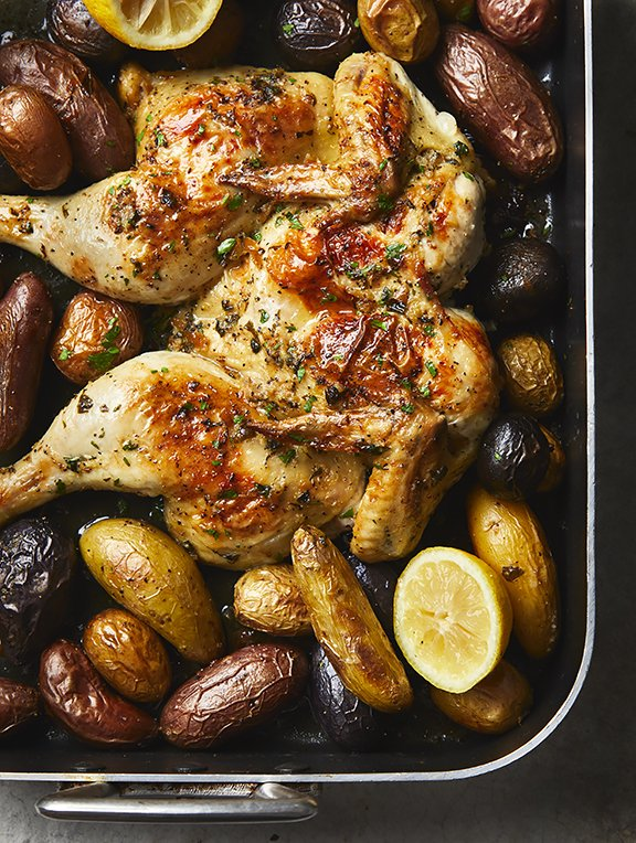 Whole Roasted Chicken - Quick Weeknight Budget Meals
