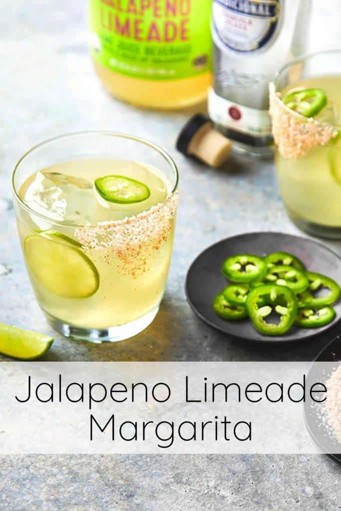 Jalapeno Margarita - Trader Joe's Jalapeno Limeade juice makes the easiest margarita!