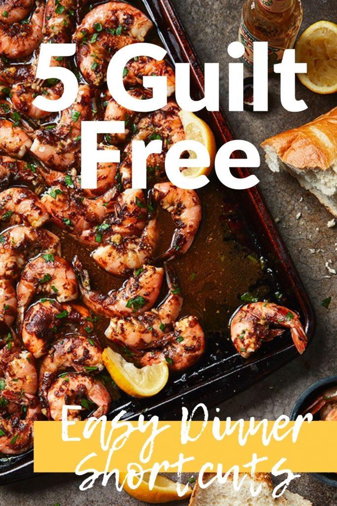 Sheet pan shrimp - 5 easy dinner shortcuts