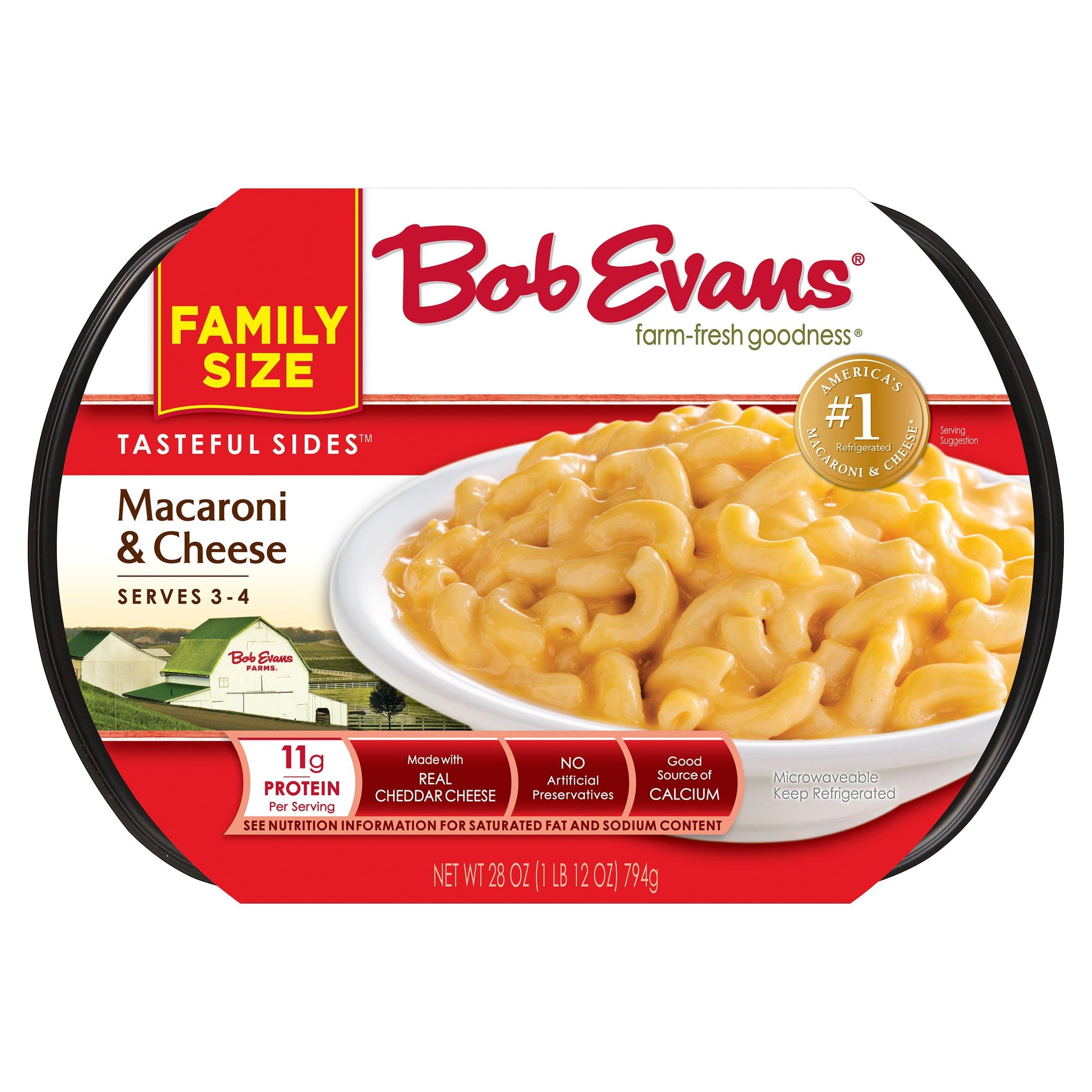 Bob Evans Tasteful Sides Macaroni & Cheese Family Size, 28 oz - Walmart.com