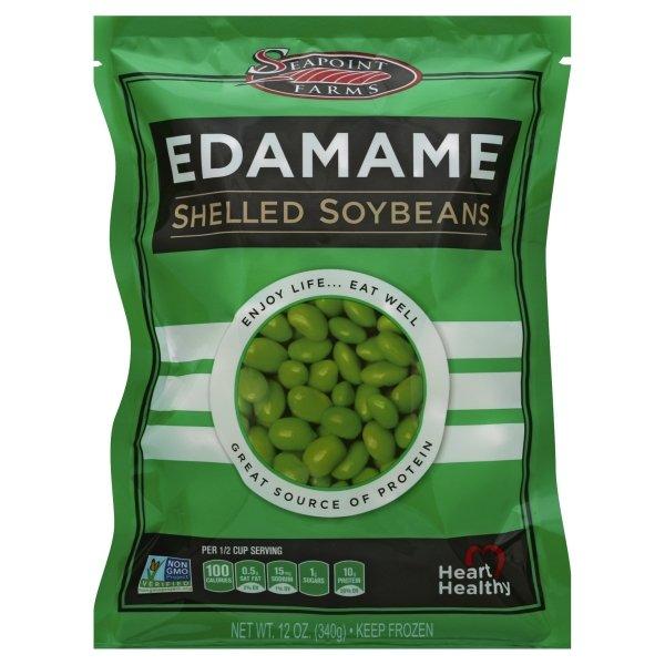 Seapoint Farms Edamame Shelled Soybeans, 12 Oz - Walmart.com