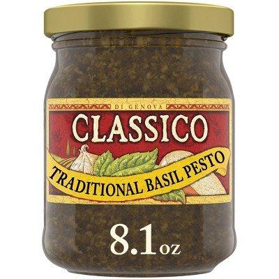 Classico Signature Recipes Traditional Basil Pesto - 8.1oz