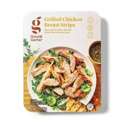 Grilled Chicken Strips - 12oz - Good & Gather™