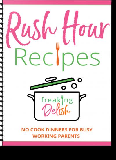 Rush Hour Recipes Mini Cookbook